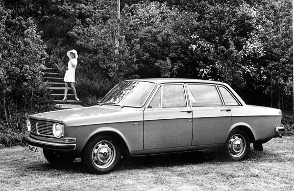 1970 Volvo 144. Creator: Unknown