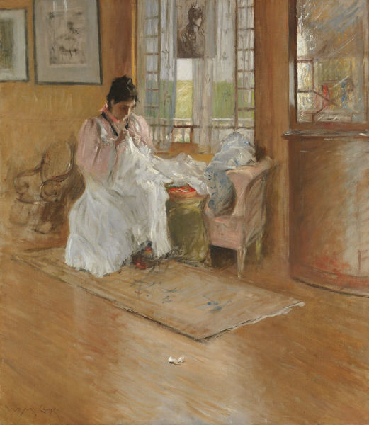 For the Little One, ca. 1896. Creator: William Merritt Chase
