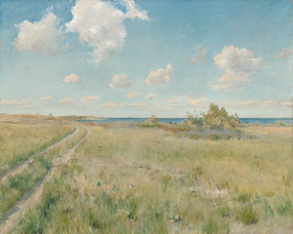 The Old Road to the Sea, c. 1893. Creator: William Merritt Chase (American, 1849-1916)