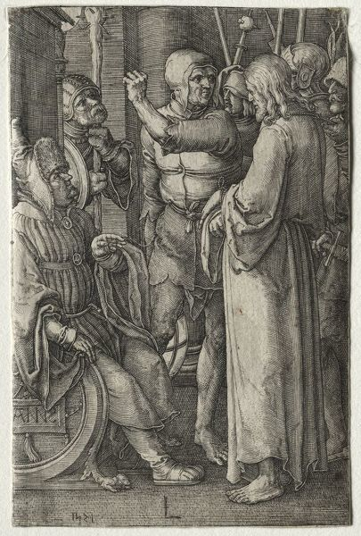 The Passion: Christ Before the High Priest, 1521. Creator: Lucas van Leyden (Dutch, 1494-1533)