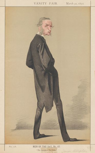Vanity Fair: Men of the Day, No. 42 'The Apostle of the Flesh', 1872. Creator