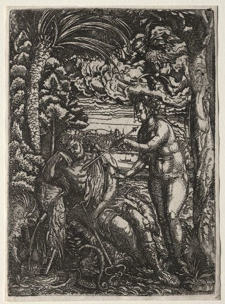 Venus and Mercury. Creator: Hans Burgkmair (German, 1473-1531)