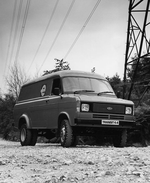 1983 Ford Transit 4x4. Creator: Unknown
