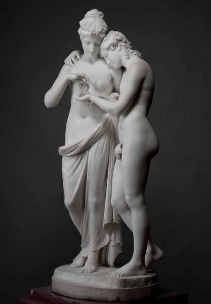 Amor and Psyche, 1808. Found in the Collection of State Hermitage, St. Petersburg