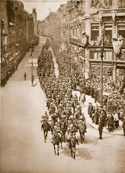 Anzac Day in London, April 25th, 1919