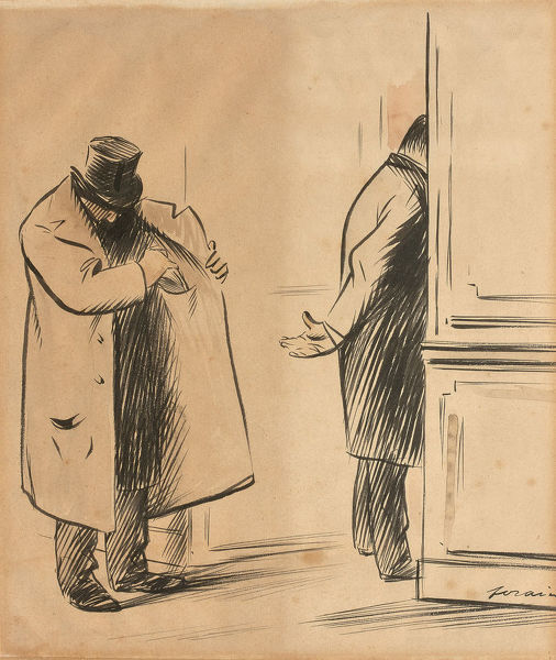 The bribe. Private Collection