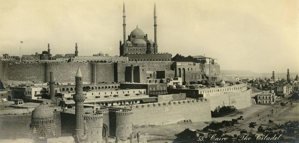 'Cairo - The Citadel', c1918-c1939. From an album of postcards