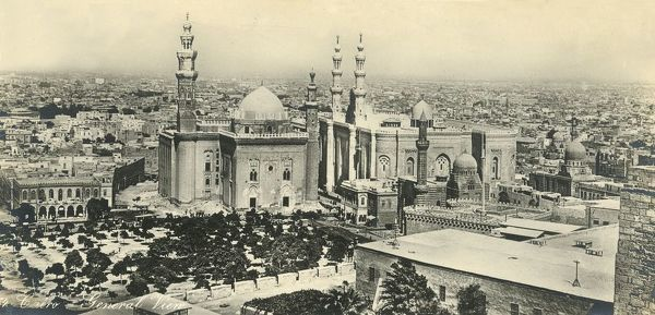 'Cairo - General View', c1918-c1939. From an album of postcards