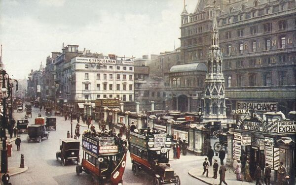 Charing Cross and the Strand, London, c1910