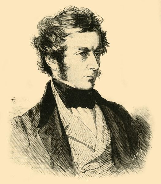 "Charles Pelham Villiers (1802-1898), British politician and President of the Poor Law Board, c1844 (c1890). From ""Cassell's History of England - Special Edition, Vol. V [Cassell and Company, Limited, London, Paris, New York & Melbourne, c1890]"