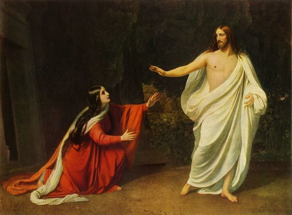 'Christ appears to Mary Magdalene', 1834, (1965)