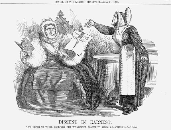 'Dissent in Earnest', 1860