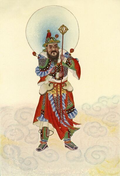 'The Door-God - Military', 1922. Creator: Unknown