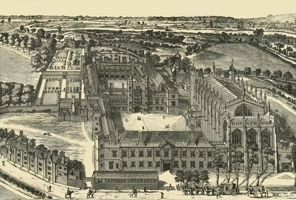 "'General View of Eton College', 1911. Generations of British and foreign aristocracy have been educated at Eton independent boarding school, founded in 1440 by King Henry VI. From ""A History of Eton College (1440-1910)"", by Sir H"