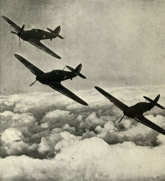'Hurricanes Over France', 1939-1940, (1941). From Fighter Pilot - A Personal Record of the Campaign in France. September 8th, 1939, to June 13th, 1940. [B. T. Batsford Ltd., London, 1941]