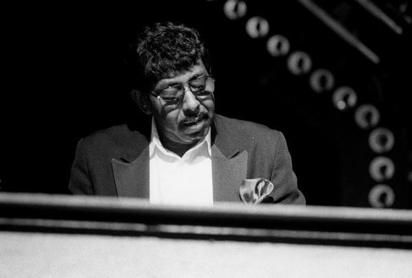 Jimmy McGriff, Top Rank Suite, Brighton, May 1989. Artist: Brian O'Connor