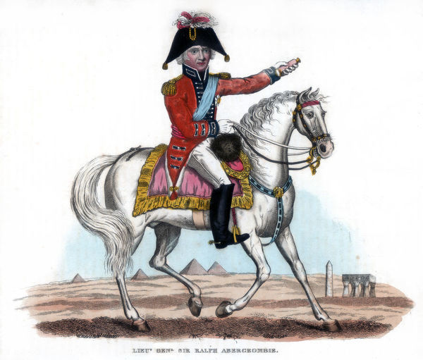 Lieutenant-General Sir Ralph Abercromby (1734-1801), 1816. Abercrombie was a British soldier noted for his services during the Napoleonic Wars