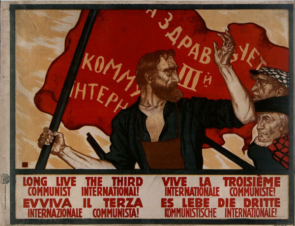 Long live the Third Communist International!, 1921