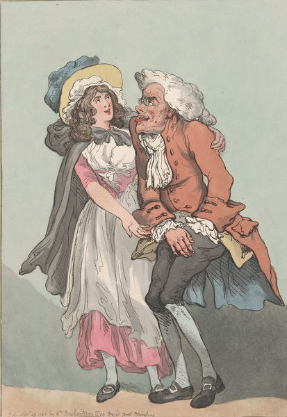 Lust and Avarice, November 29, 1788., November 29, 1788. Creator: Thomas Rowlandson