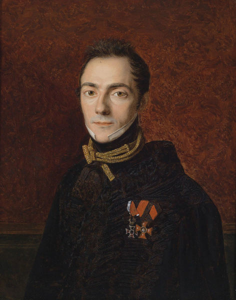 Portrait of Count Georg Apponyi von Nagy-Apponyi (1808-1899), 1827. Private Collection