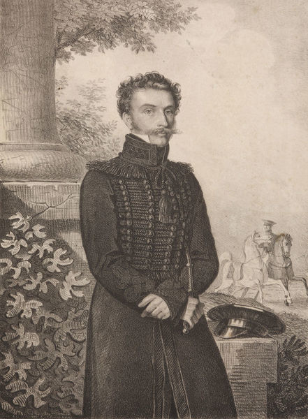 Portrait of Count Paul Khristoforovich Grabbe (1789-1875), 1820s. Found in the Collection of State Museum of A.S. Pushkin, Moscow