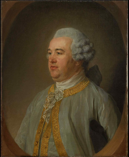 Portrait of Dennis MacCarthy (1719-1796), Mid of the 18th cen