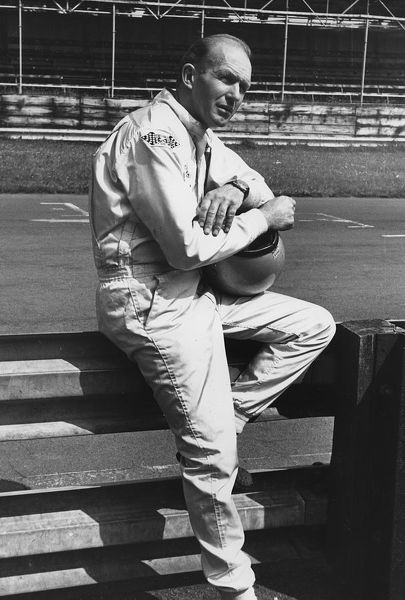 Racing Driver Frank Gardner. Creator: Unknown