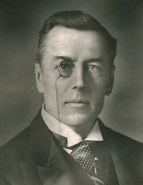 "'The Right Honorable Joseph Chamberlain', c1907. Portrait of British statesman (Joseph) Austen Chamberlain (1863-1937). From ""Our Conservative and Unionist Statesmen"", Volume II. [Newman, Graham & Co, London, c1907]"