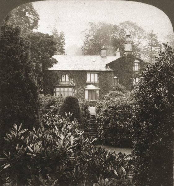 "'Rydal Mount, William Wordsworth's home, Lake District, Engalnd', 1903. From ""Underwood and Underwood Publishers, New York-London-Toroto Canada-Ottawa Kansas.&quot"