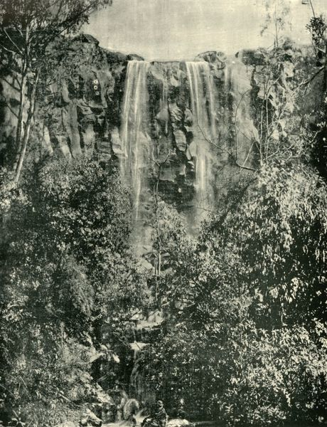 "'Sailor's Creek Falls, Daylesford', 1901. From ""Federated Australia"". [The Werner Company, London, 1901]"