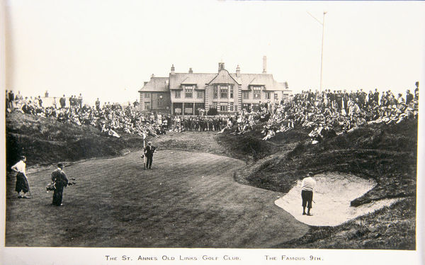 The St Annes Old Links golf club. The famous ninth. Artist: Unknown