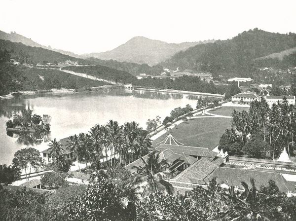 'View from Lady Horton's Walk', Kandy, Ceylon, 1895
