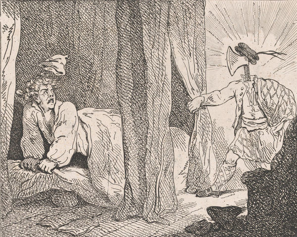 The Vision (Picturesque Beauties of Boswell, Part the Second), May 15, 1786