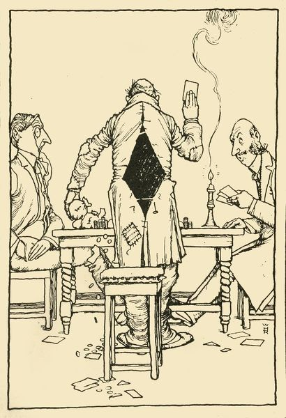 """The Wininng Card"" on the ace of diamonds', 1910"
