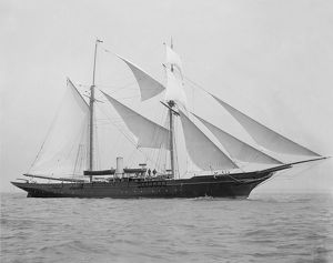 great days yachting/1894 built schooner xarifa sail 1899 creator