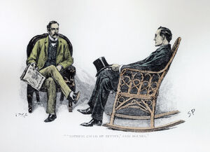 ''Nothing could be Better'' said Holmes', 1893. Artist: Sidney E Paget
