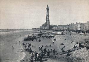 best british/blackpool view front showing tower 1895
