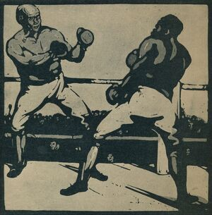 sporty/the boxers 1898 1935 creator william