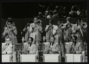 jazz/brass section count basie orchestra royal festival