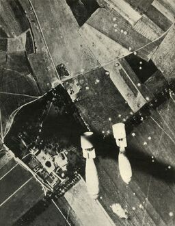 'More British Bombs on an Enemy-Held Aerodrome', 1939-1940, (1941). Creator