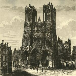 the cathedral rheims 1890 creator unknown