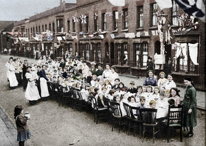best british/childrens tea party east end street london