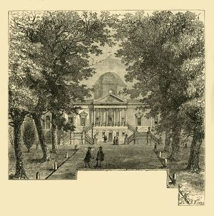 'Chiswick House, in 1763', (c1878). Creator: Unknown