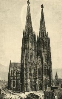 cologne cathedral 1890 creator unknown