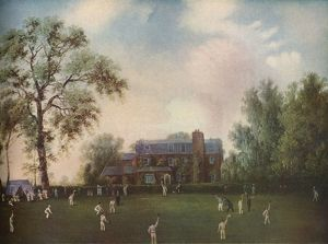 sporty/cricket gads hill place rochester c1868 artist