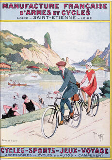 sporty/cycling sport fun travel 20th century artist