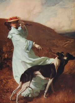 'Diana of the Uplands', 1903-1904, (c1915). Artist: Charles Wellington Furse