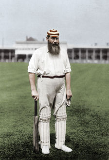 best british/dr wg grace english cricketer playing london