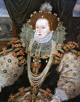 best british/elizabeth i queen england ireland c1588 artist
