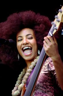 women jazz/esperanza spalding love supreme jazz festival